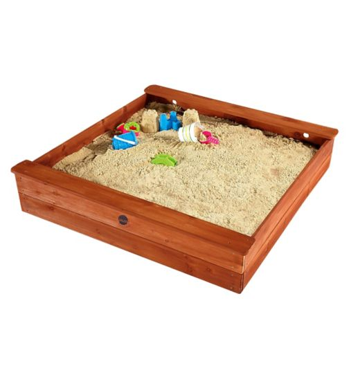 Plum® Square Wooden Sand Pit
