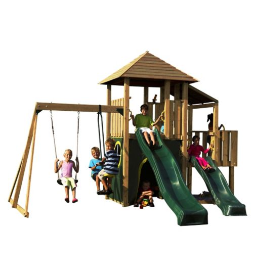 Plum® Bison Wooden Play Centre