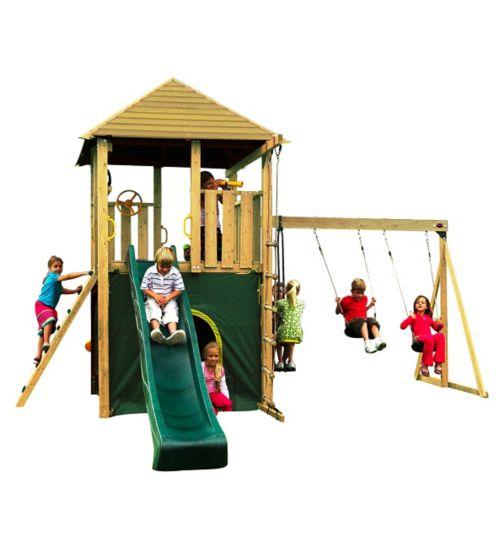 Plum® Warthog Wooden Play Centre