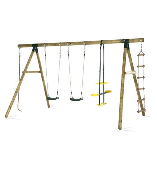 Plum Orang-Utan®  Wooden Garden Swing Set