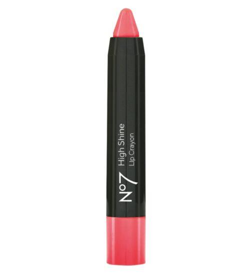 No7 High Shine Lip Crayon