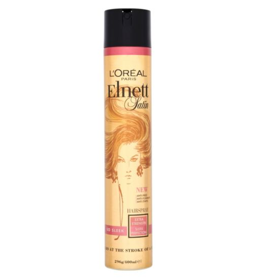 L'Oréal Paris Elnett Satin Hairspray So Sleek Extra Strength 400ml