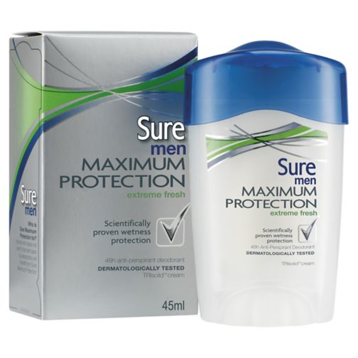 Sure Men Maximum Protection Extreme Fresh 48h Anti-Perspirant Deodorant 45ml