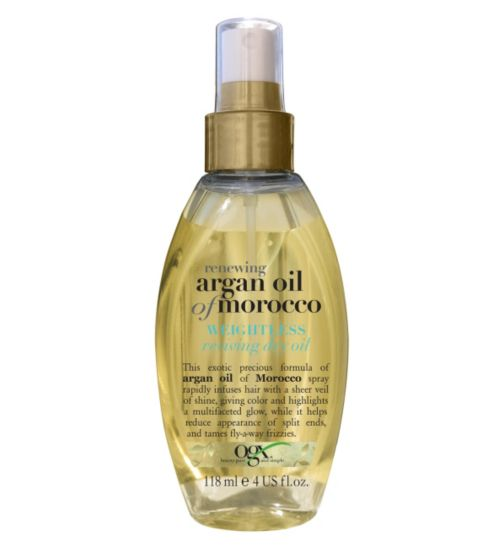 OGX Renewing Moroccan Argan Oil Weightless Reviving Dry Oil 118ml
