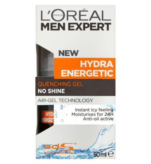 L'Oreal  Men Expert Hydra Energetic Quenching Gel 50ml