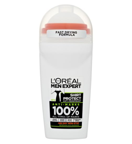 L'Oreal Men Expert Deodorant Roll On Shirt Protect Tonic 50ml