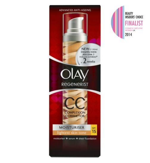 Olay Regenerist CC Cream Lightest Skin Tone SPF 15 50ml