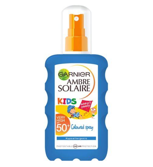 Ambre Solaire Kids Coloured Sun Cream Spray SPF50+ 200ml