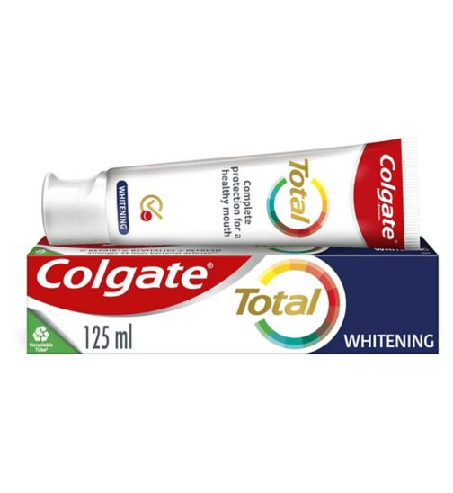 Colgate Total Whitening Toothpaste - 125ml