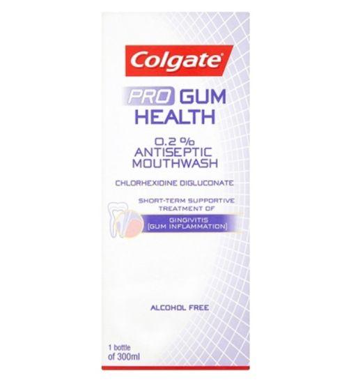 Colgate Total Pro Gum Health Antiseptic Mouthwash 300ml