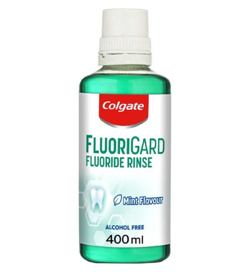 Colgate FluoriGard Alcohol Free Mouthwash 400ml