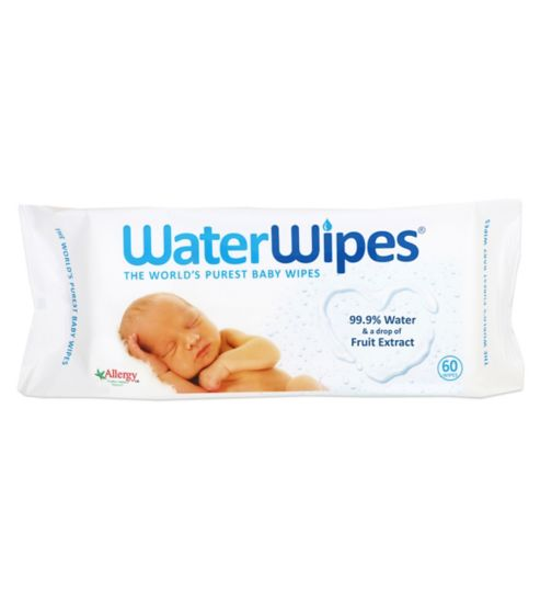WaterWipes Baby Wipes 60 pack