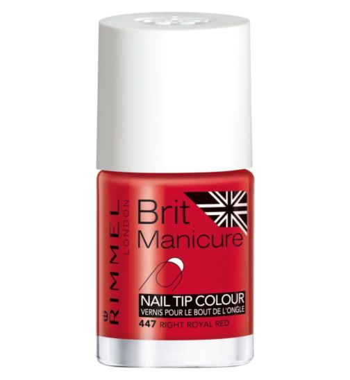 Rimmel London Brit Manicure Nail Tip Colour