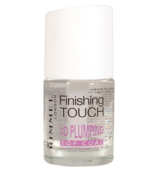 Rimmel London Finishing 3D Plumping Top coat