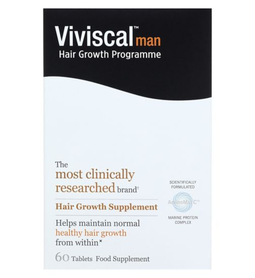 Viviscal Man supplements  -  60 tablets (1 month supply)