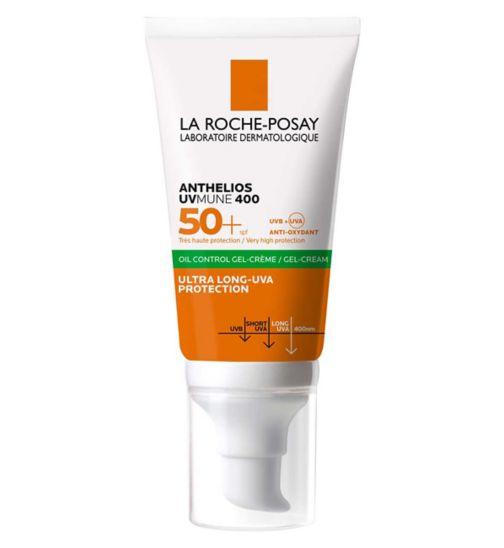 La Roche-Posay Anthelios Anti-Shine Sun Cream Gel SPF50+  50ml