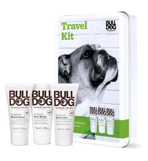 Bulldog Travel Tin Gift Set