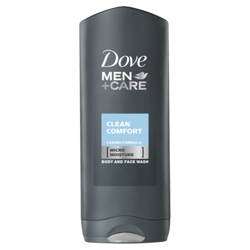 Dove Men+Care Clean Comfort Caring Formula Body and Face Wash 400ml