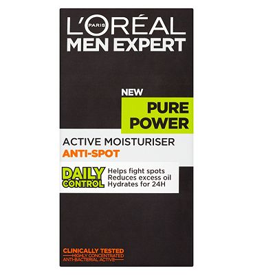L'Oral Paris Men Expert Pure Power Active Moisturiser Anti-Spot 50ml