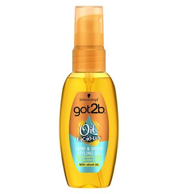 Schwarzkopf Got2b Oil Licious Tame & Shine Styling Oil 50ml by Schwarzkopf