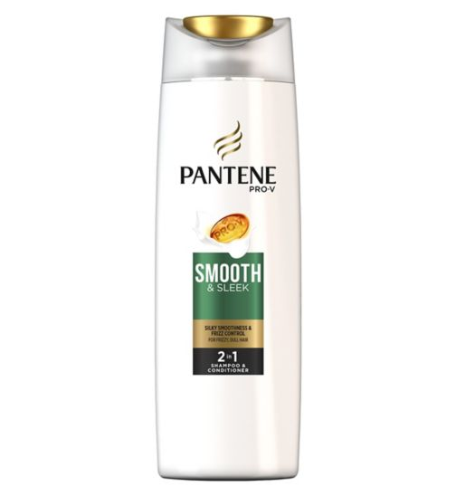 Pantene Pro-V 2 in 1 Shampoo and Conditioner Smooth & Sleek 400ml