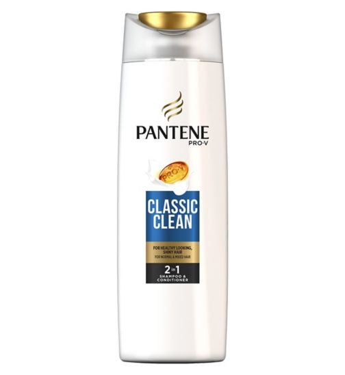 Pantene Classic Clean 2-in-1 Shampoo and Conditioner 400ml