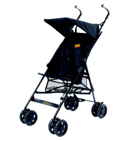 Babyway Park Elite Pushchair - Black