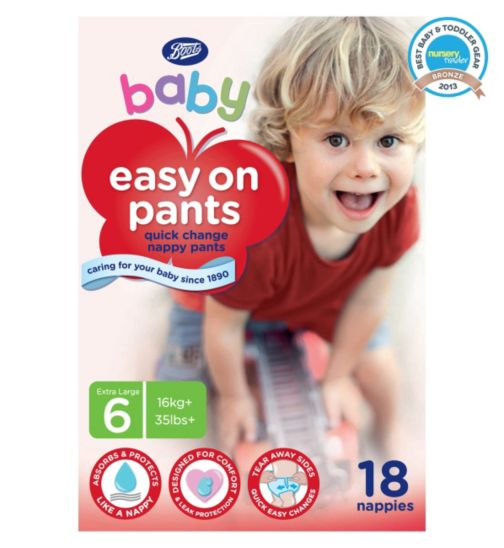 Boots Baby Easy On Potty Training Pants Size 6 Extra Large - 1 x 18 Pants