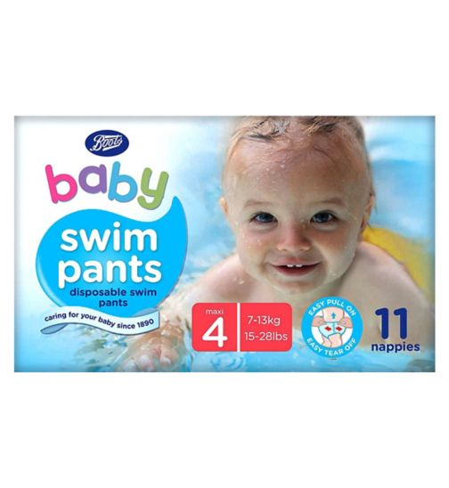 Boots Baby Swim Pants Size 3-4 maxi 1 x 11 pants