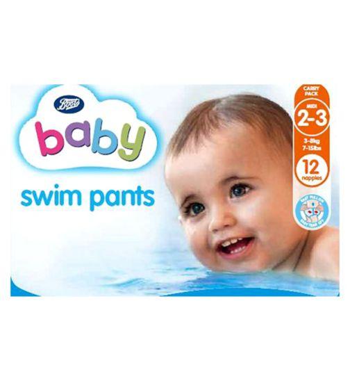 Boots Baby Swim Pants Size 2-3 Midi - 1 x 12 Pants