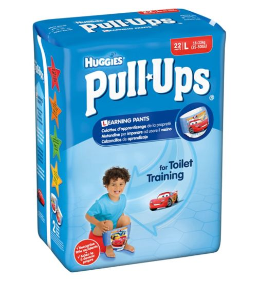 Huggies Pull-Ups Boy Economy Pack Size 6 Potty Training Pants 1 x 22 Pack