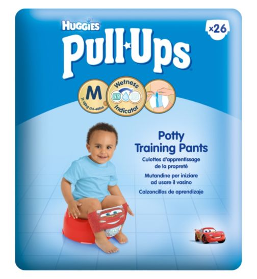 Huggies Pull-Ups Boys Economy Pack Size 5 Potty Training Pants - 26 Pack