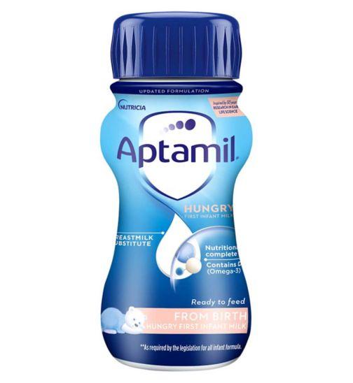 Aptamil Hungry Milk From Birth 200ml