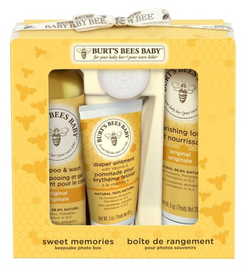 Burt's Bees Baby Bee® Sweet Memories Gift Set with Keepsake Photo Box