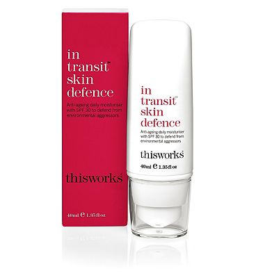 this works in transit skin defence SPF 30 40ml