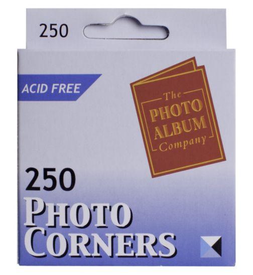 Photo Corners - 250 Pieces