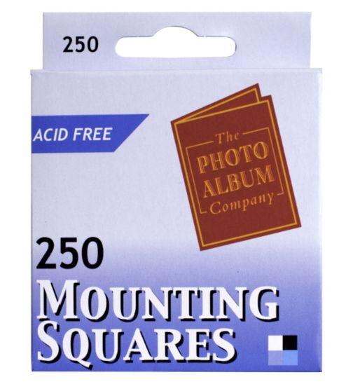 Photo Mounts- 250 Pieces