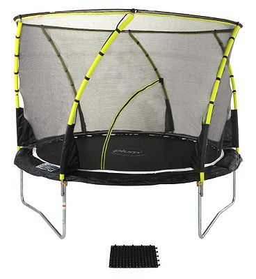 Plum Whirlwind Trampoline and Enclosure 12ft