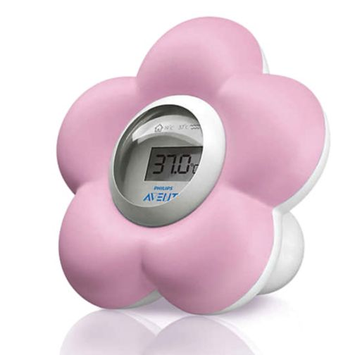 Philips Avent Pink Bath & Room Thermometer