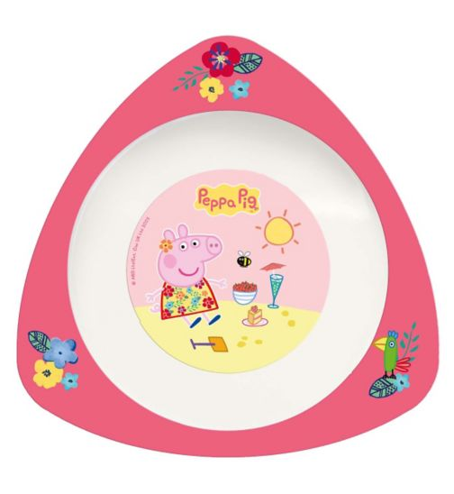 Spearmark Peppa Pig Nursery Triangle Bowl