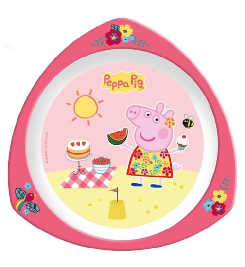 Spearmark Peppa Pig Nursery Triangle Plate