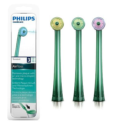 Image of Philips Sonicare AirFloss Replacement Nozzles HX8013/07 (3 Pack)
