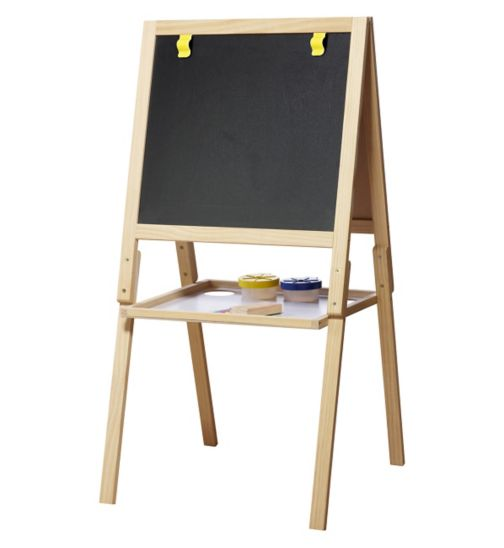 Casdon Wooden Chalk and White Board Easel
