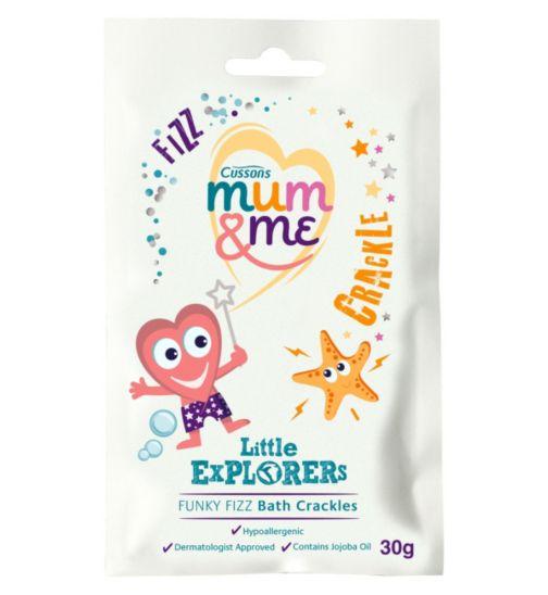 Cussons Mum & Me Little Explorers Funky Fizz Bath Crackles 30g