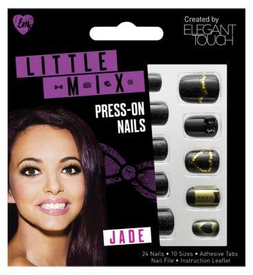 Little Mix Jade Nails