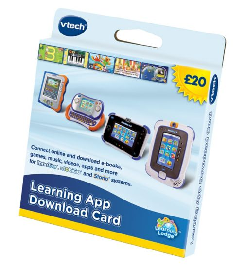 VTech Learning Lodge £20 App Card