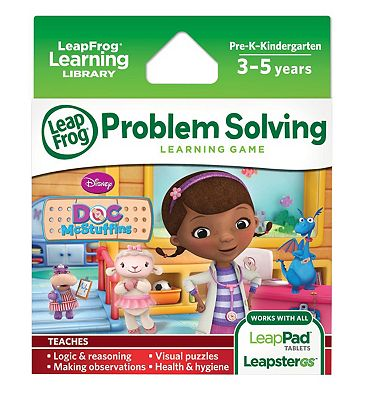 LeapFrog Explorer Learning Game Disney Doc McStuffins