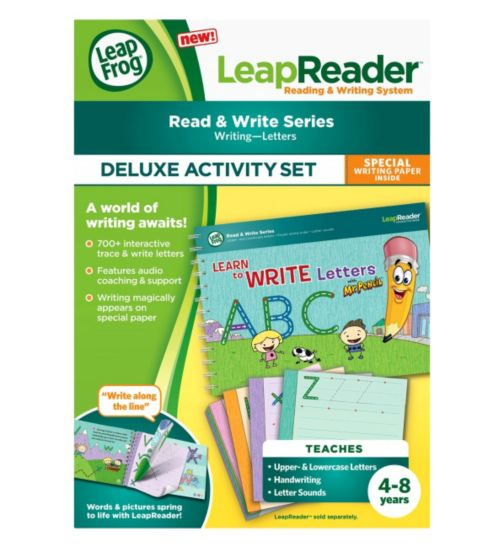 LeapFrog LeapReader Deluxe Workbook: Learn to Write Letters with Mr. Pencil