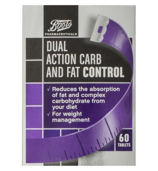 Boots Dual Action Carb and Fat Control - 60 tablets