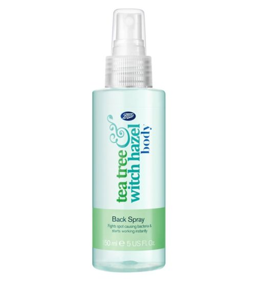 Boots Tea Tree & Witch Hazel Back Spray 150ml